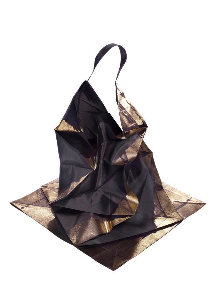 """Vestido coleção """"132 5"""", Issey Miyake, 2010"""